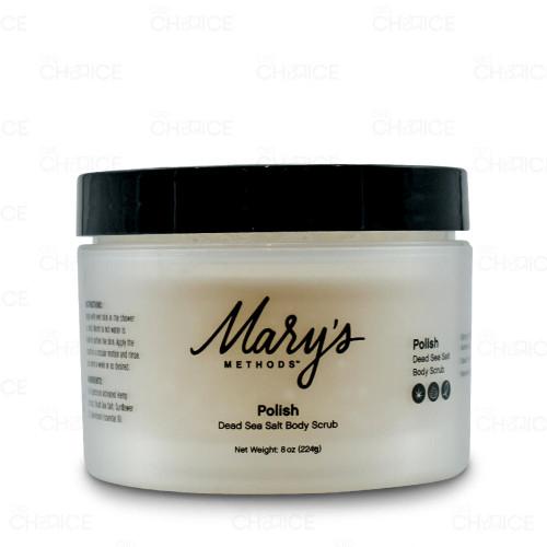 Marys Methods Polish Dead Sea Salt Body Scrub 8oz