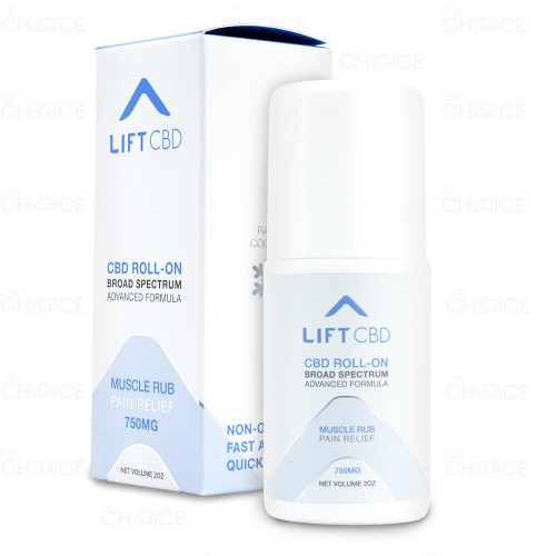 Lift CBD Muscle Rub Pain Relief Roll-On 2oz