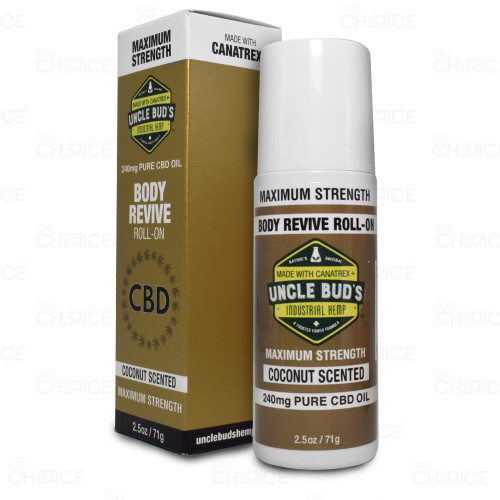 Uncle Buds CBD Body Revive Roll-On 2.5oz