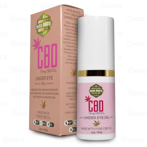 Miss Buds CBD Under Eye Oil 0.5oz