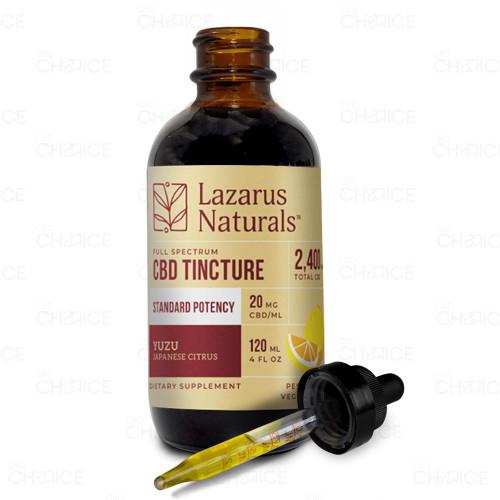 Lazarus Naturals Yuzu Standard Potency Full Spectrum Tincture 120ml