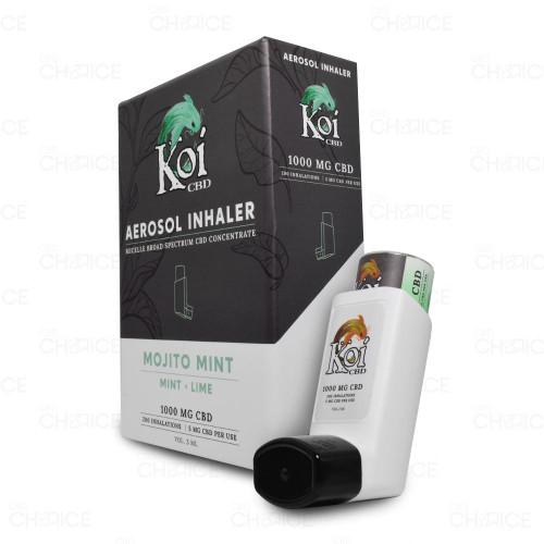 Koi CBD Mojito Mint Flavor CBD Aerosol Inhaler 200 inhalations