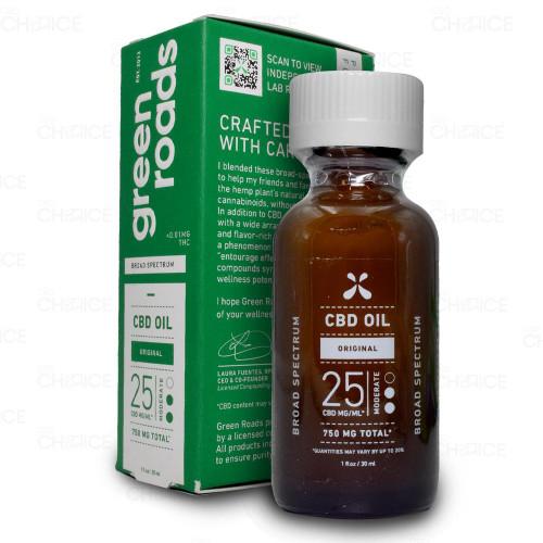 Green Roads Broad Spectrum CBD Oil Drops 30ml, 750mg