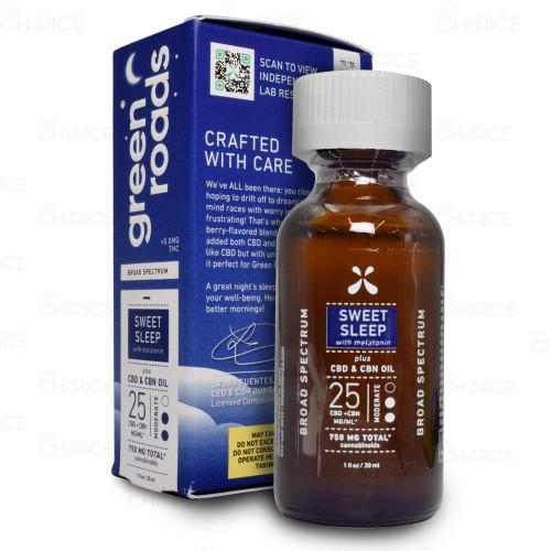Green Roads Sweet Sleep CBD CBN Oil 30ml, 750mg