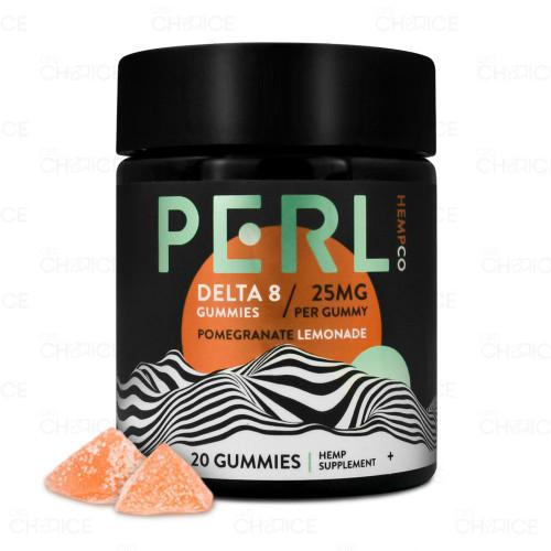 Pachamama PERL or Pomegranate Lemonade Delta 8 Gummies 20 count