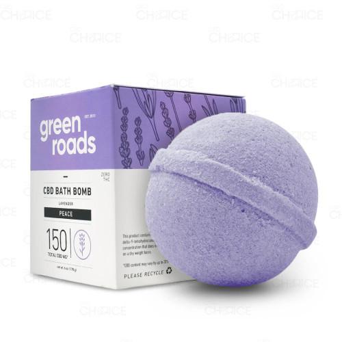 Green Roads Peace Lavender Bath Bomb 1 count