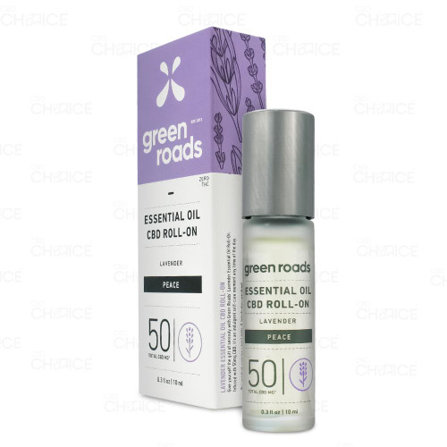 Green Roads Peace Lavender Essential Oil Roll-On 10ml