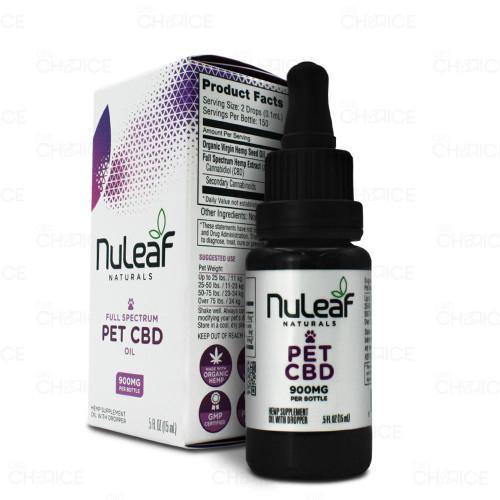 Nuleaf Naturals NuLeaf Naturals or Pet CBD Oil 5-30ml