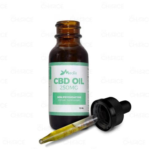 Medix CBD CBD Oil Tincture 15ml, 250mg