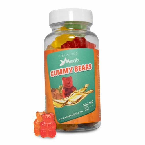 Medix CBD Gummy Bears 30 count
