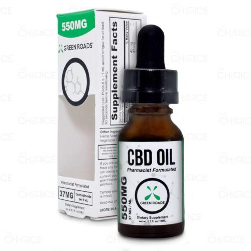 Green Roads THC-Free CBD Oil 15ml, 550mg