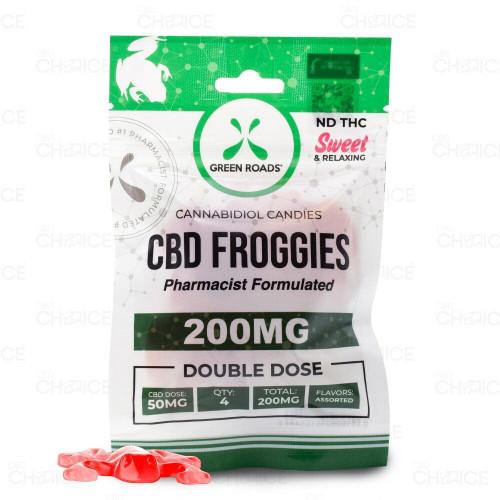 Green Roads Gummy CBD Froggies 4 count, 200mg