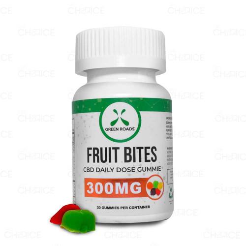 Green Roads Gummy CBD Fruit Bites 30 count, 300mg