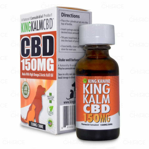 King Kanine King Kalm CBD Pet Oil 30ml 150mg