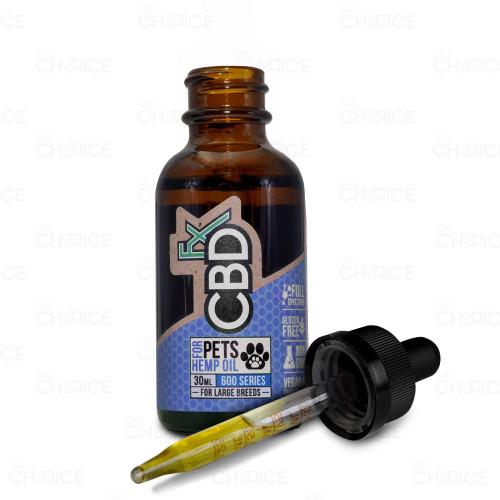 CBDfx Hemp Oil For Pets, 30ml 600mg