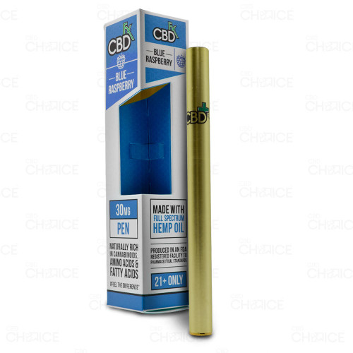 A CBDfx Blue Raspberry CBD Vape Pen, 30mg