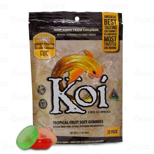 Koi CBD Tropical Fruit Gummies 20-count