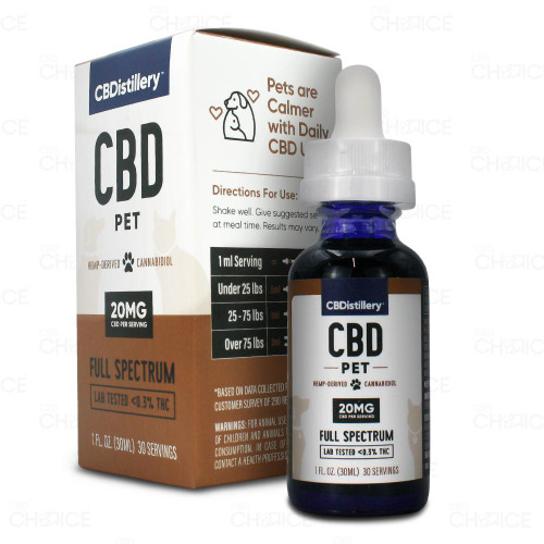 CBDistillery Pet CBD Oil 600mg