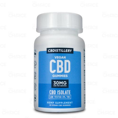 CBDistillery Vegan CBD Gummies 25 count