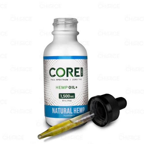 Core CBD Natural Hemp CBD Oil 1500mg