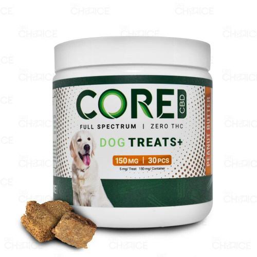 Core CBD Peanut Butter Dog Treats 30 count