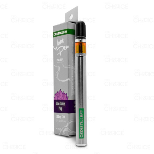 CBDistillery CBD Vape Pen Grand Daddy Purp Flavor 0.5ml