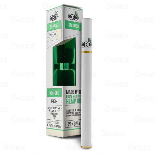 A CBDfx OG Kush Terpenes Vape Pen, 50mg
