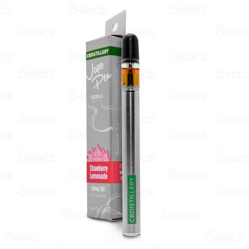 CBDistillery CBD Vape Pen Strawberry Lemonade Flavor 0.5ml