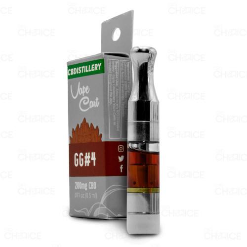 CBDistillery CBD Vape Cartridge GG#4 Flavor 0.5ml