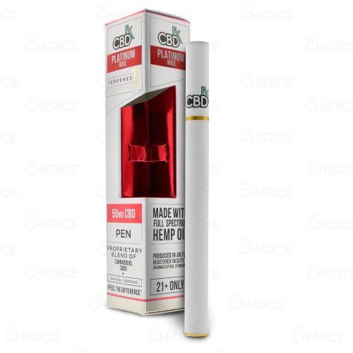A CBDfx Platinum Rose Terpenes Vape Pen 50mg