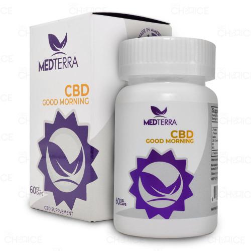 Medterra Good Morning CBD Softgel Capsules 60 count