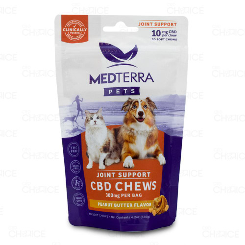 Medterra Joint Support CBD Pet Soft Chews 30 count, 300mg