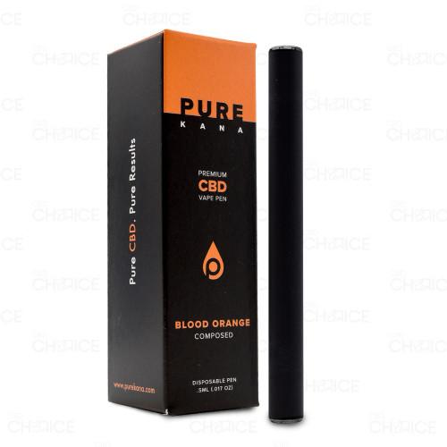 PureKana Blood Orange Composed CBD Vape Pen 0.5ml
