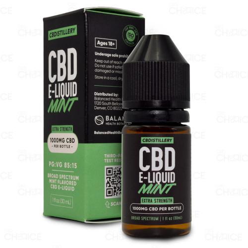 CBDistillery Mint E-Liquid 1000mg