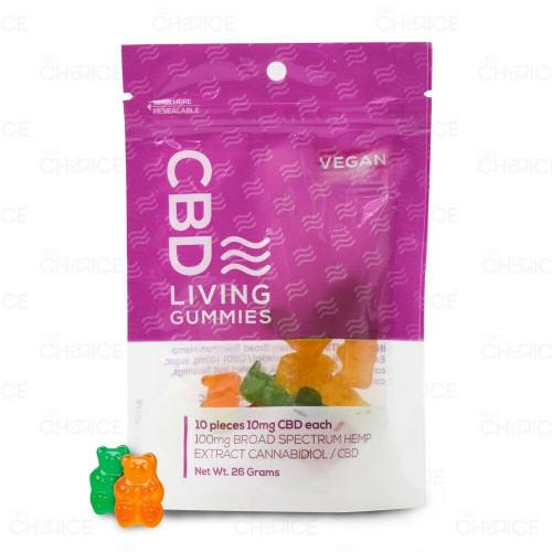 CBD Living Vegan Gummies 10 count