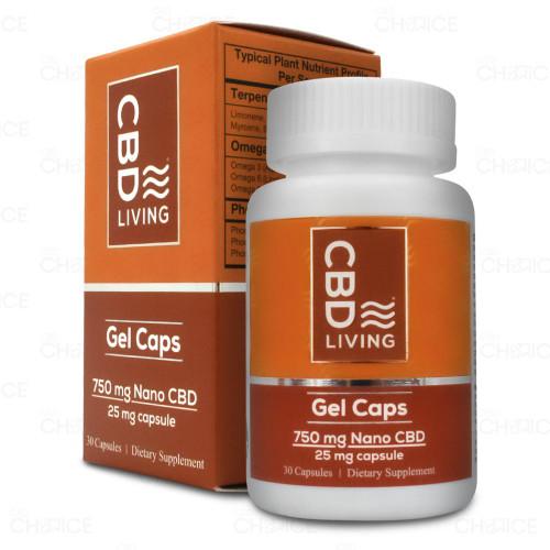 CBD Living Broad Spectrum Gel Capsules 30 count