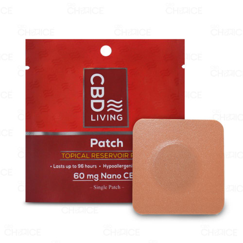 CBD Living Topical Patch 1 count