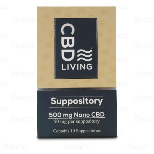 CBD Living CBD Suppository 10 count