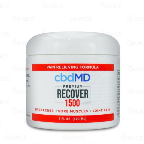 cbdMD CBD Recover Inflammation Formula Tub 1500mg