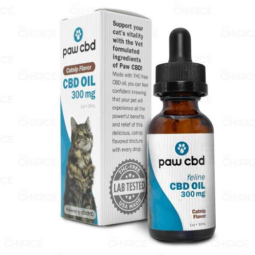 Paw CBD Catnip CBD Oil for Cats 300mg