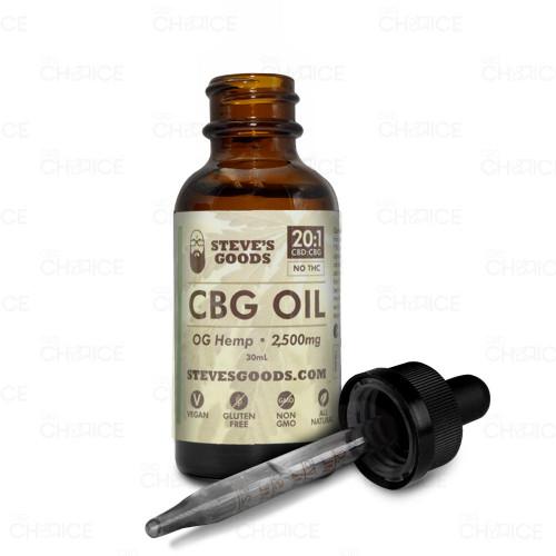 Steves Goods OG Hemp CBG Oil 30ml, 2500mg