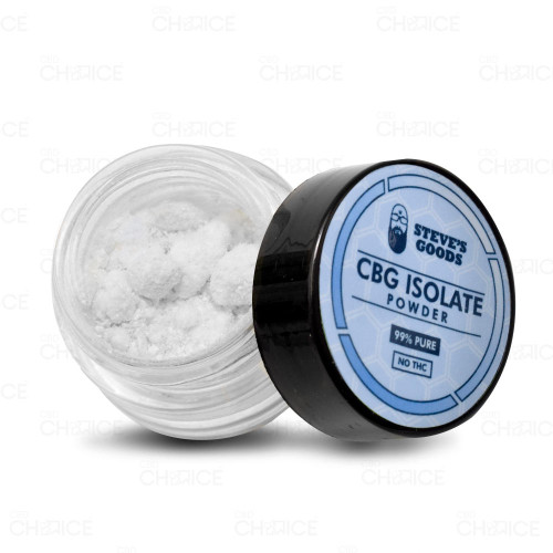 Steves Goods Pure CBG Isolate 1g
