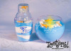Decorated Sand Shaker Sets  and Tooter Bowl