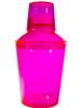 Plastic Cocktail Shaker Set 18 oz  Pink