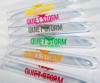 5 inch Smooth Tooters Test Tube Custom Printed Clear