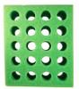 Test Tube Foam Rack 20 hole Green