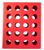 Test Tube Foam Rack 20 hole Red