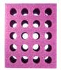 Test Tube Foam Rack 20 hole Purple
