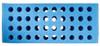 Foam Test Tube Shooter Rack 40 hole Blue