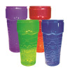 Tiki Glass Stackable 26 oz Assorted Colors